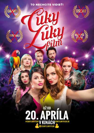 cuky luky posterr